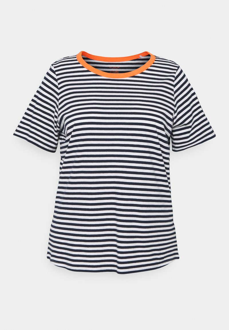 MY TRUE ME TOM TAILOR - Print T-shirt - navy/white