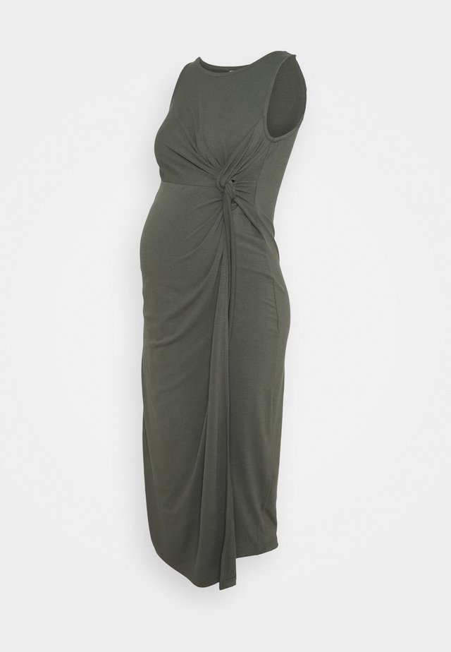 MLMEHA MIDI DRESS - Maxi šaty - thyme