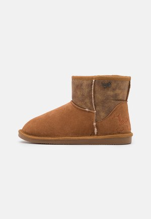 TIGNES - Classic ankle boots - tan