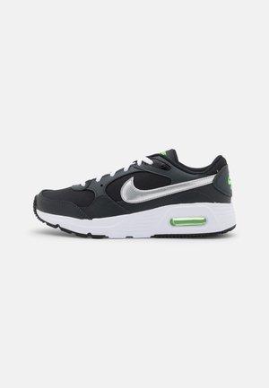 AIR MAX UNISEX - Sneakers laag - black/chrome/dark smoke grey/green strike