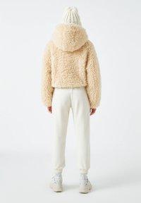 PULL&BEAR - Zimní bunda - beige - 2