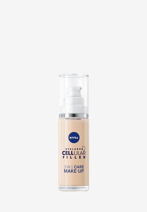 HYALURON CELLULAR FILLER 3IN1 CARING MAKE-UP FOUNDATION - Foundation - light