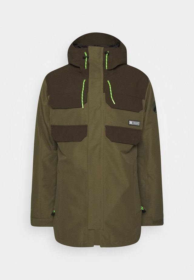 HAVEN JACKET - Snowboardjas - tarmac