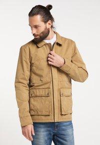 DreiMaster - Light jacket - dunkelsand - 0