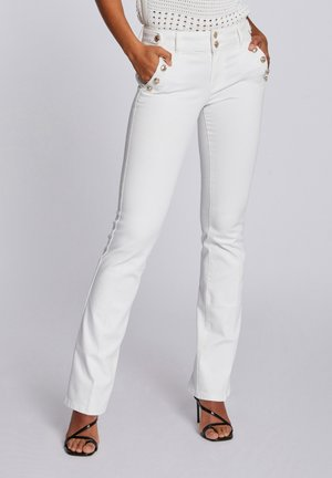 Bootcut jeans - off white