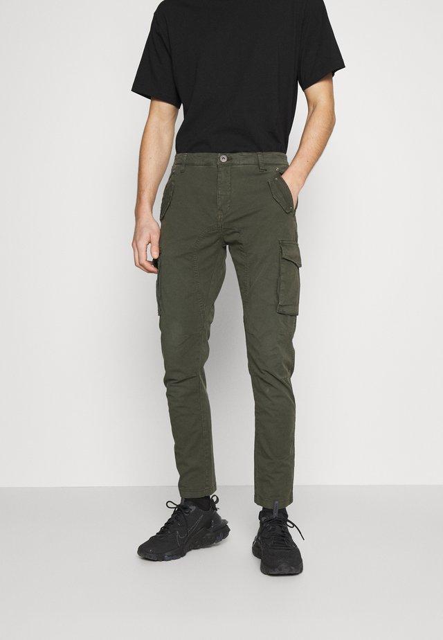 PANT - Cargobroek - green