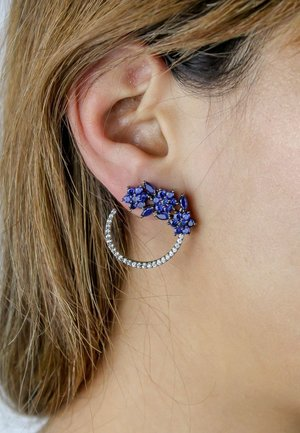 SALAMANDER - Earrings - blue