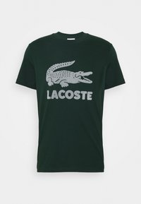 Lacoste - T-shirt med print - sinople - 4