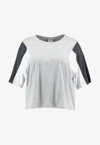 grey/charcoal/white