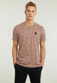 CHASIN' - LEO - Print T-shirt - pink - 0