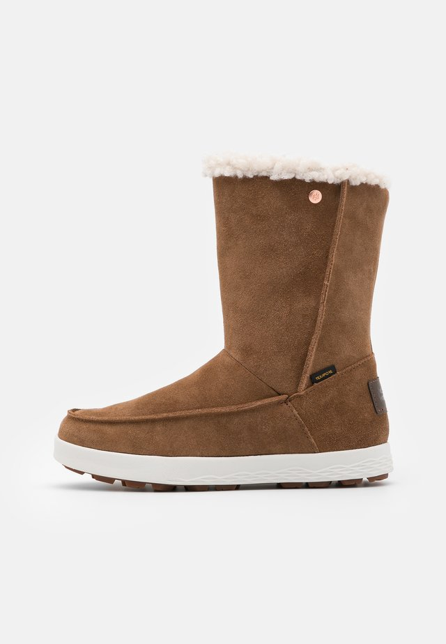 AUCKLAND WT TEXAPORE  - Talvisaappaat - desert brown/white
