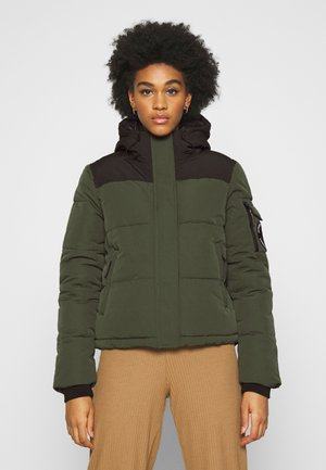 QUILTED EVEREST JACKET - Vinterjakke - army khaki