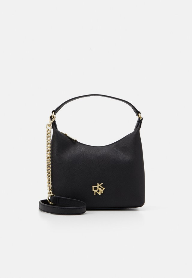 CAROL MINI POUCHETTE - Handtasche - black/gold-coloured