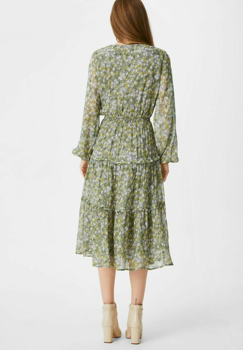 C&A - FIT & FLARE - Day dress - light green