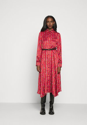 TERI DRESS - Shirt dress - medium red