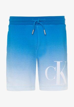GRADIENT MONOGRAM  - Shorts - blue