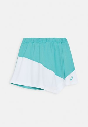 TENNIS CLUB SKORT - Falda de deporte - techno cyan/brilliant white