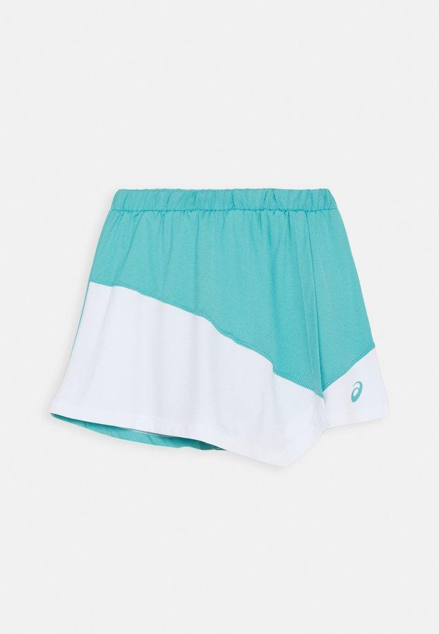 TENNIS CLUB SKORT - Gonna sportivo - techno cyan/brilliant white