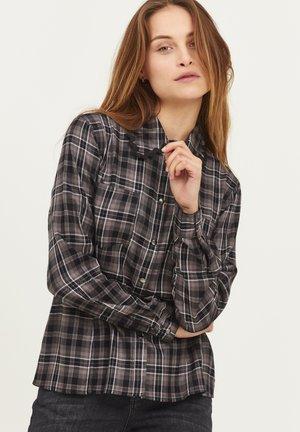 PZSOPHIA  - Overhemdblouse - dark grey check