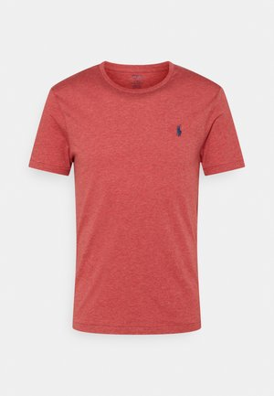 CUSTOM SLIM FIT CREWNECK - Basic T-shirt - venetian red heather