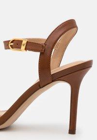 Lauren Ralph Lauren - GWEN - High heeled sandals - deep saddle tan - 4