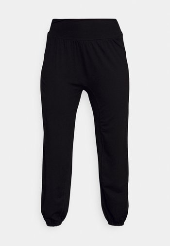 ECO WEAR YOGA PANTS - Pantalones deportivos - black