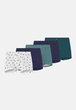 ORGANIC COTTON KIDS 5 PACK - Pants - dark green