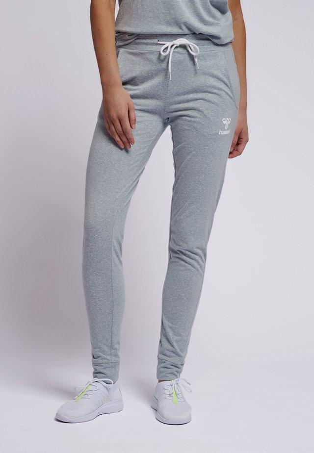 PEYTON - Tracksuit bottoms - light grey