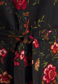 ONLY Tall - ONLNOVA LONG SHIRT DRESS - Košilové šaty - black - 6