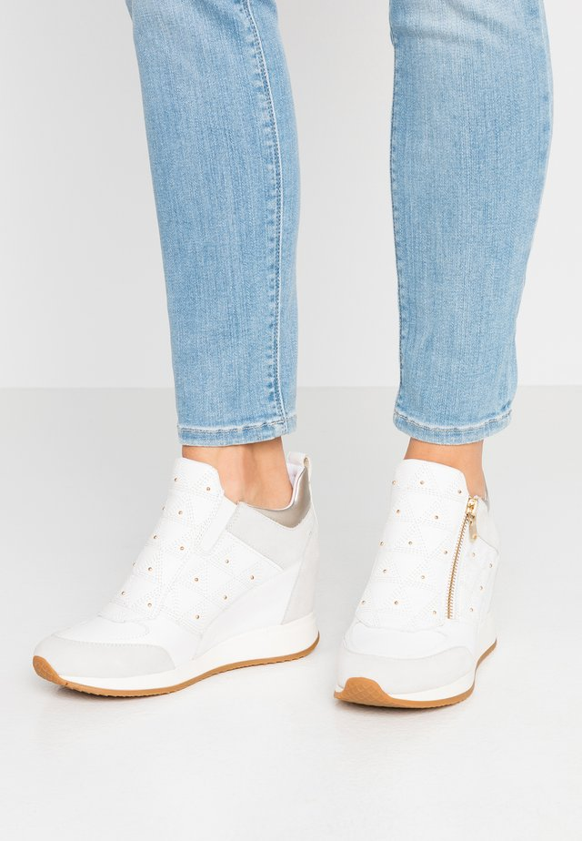 NYDAME - Sneakers basse - white/offwhite