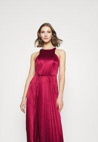 Chi Chi London - KELLI DRESS - Suknia balowa - burgundy - 3