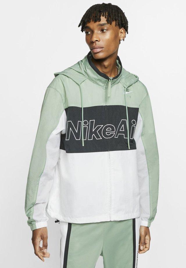 NSW NIKE AIR  - Outdoor jacket - silver pine/black/white
