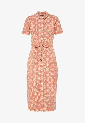 ROSIE MIDI DRESS REGENCY - Shift dress - langoustino orange