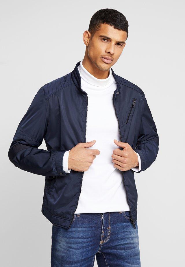 BIKER COAT - Lett jakke - ink blue