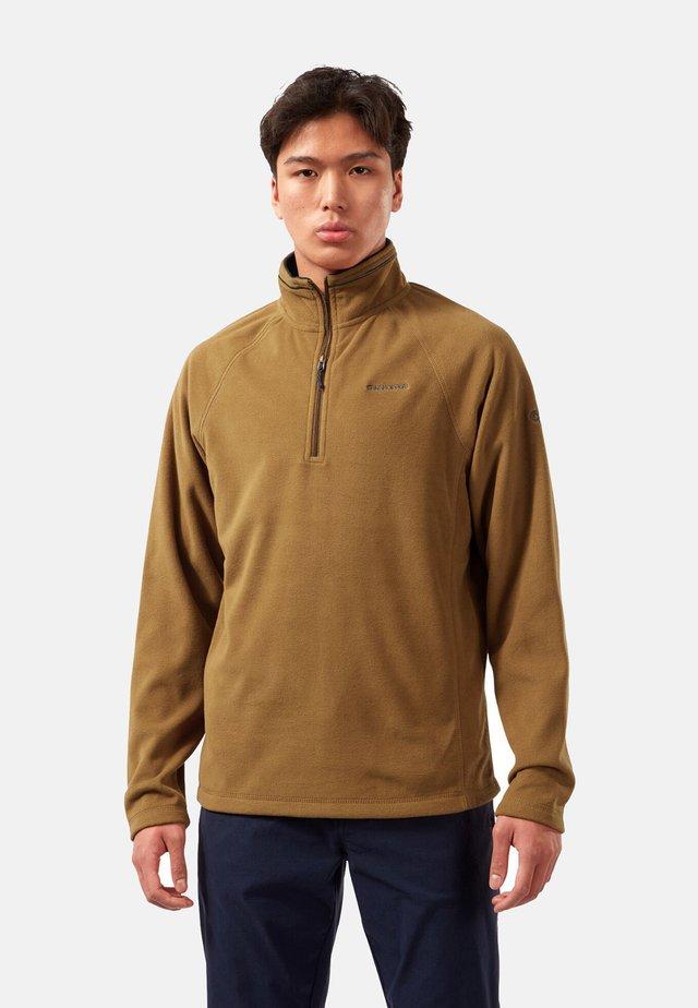 COREY - Fleece jumper - rubber