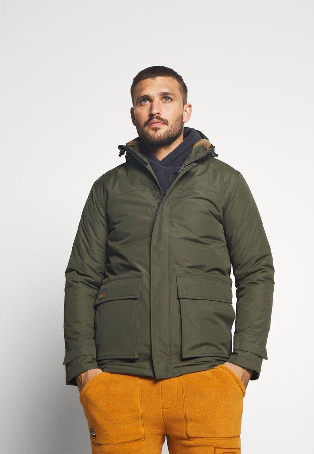 SEARLAS - Winter jacket - dark khaki