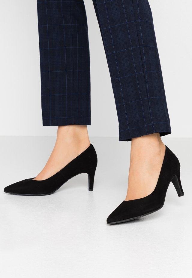 WIDE FIT BENETT - Klassiske pumps - nero