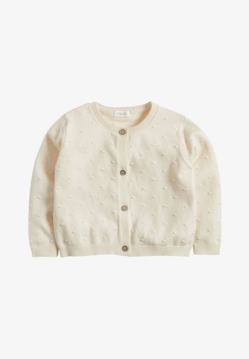 ECRU BOBBLE CARDIGAN (3MTHS-7YRS)