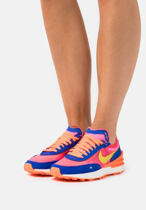 WAFFLE ONE - Trainers - racer blue/bright citron/hyper pink/siren red/hyper crimson/sail