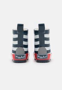 Playshoes - HALBSCHAFT MARITIM UNISEX - Holínky - marine/weiß - 2