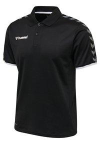 Hummel - HMLAUTHENTIC FUNCTIONAL  - Polo shirt - black/white - 2