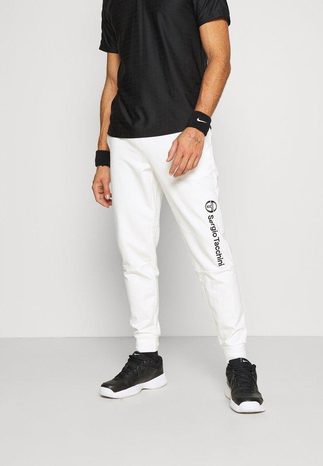 ALMERS PANT - Pantaloni sportivi - blanc de blanc