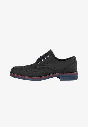 INFORMAL  - Elegantní šněrovací boty - navy