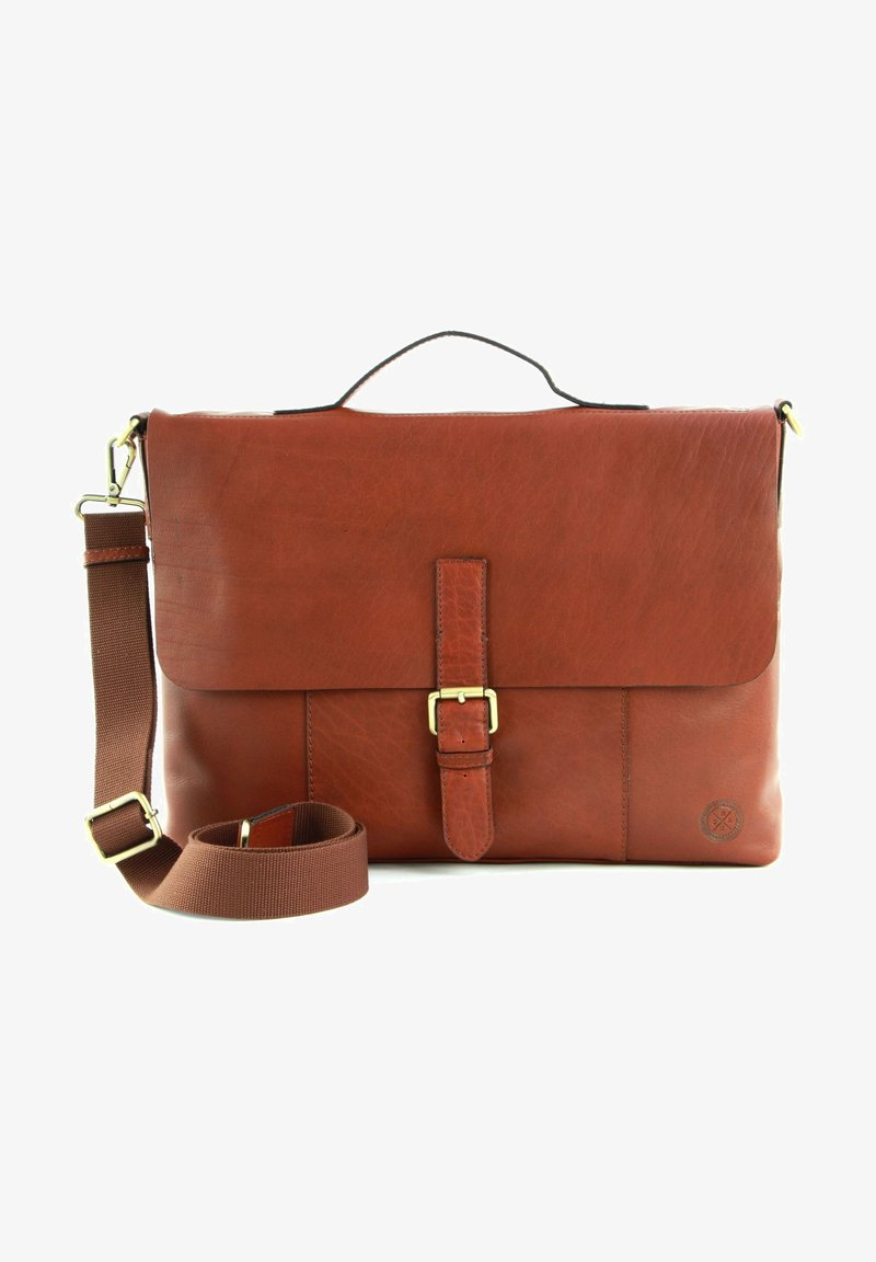 Saddler - Briefcase - midbrown