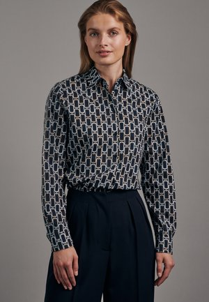ROSE - Button-down blouse - blau