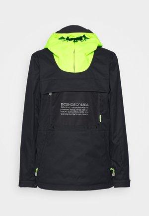 ASAP ANORAK - Snowboard jacket - black