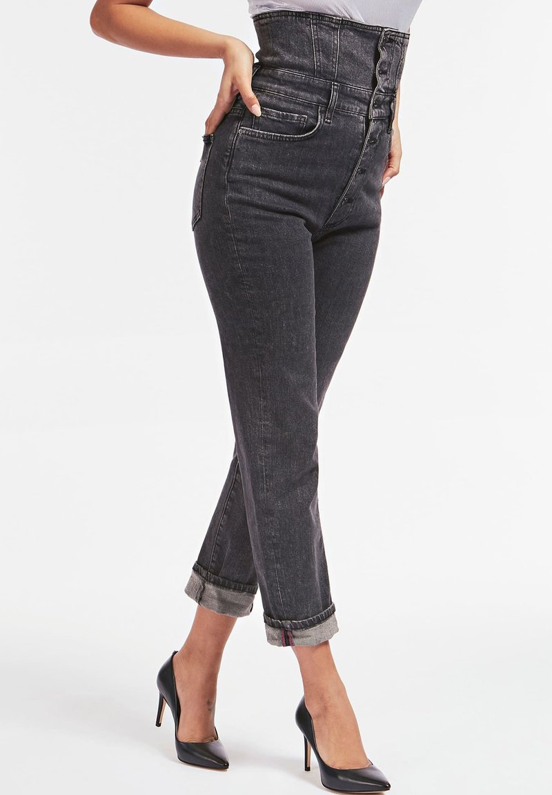 Guess - Jeans baggy - schwarz
