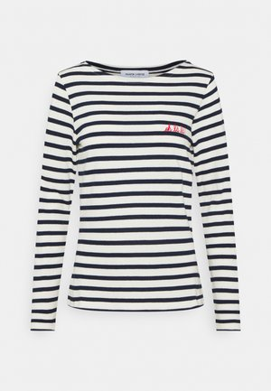 SAILOR OH LA LA - Long sleeved top - ivory/navy