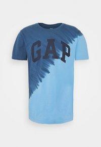 GAP - LOGO - Print T-shirt - blue - 4