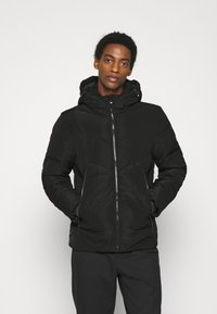 TOM TAILOR DENIM - HEAVY PUFFER JACKET - Winter jacket - black - 0